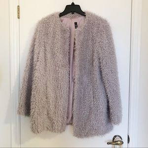 Design Lab Faux Fur Coat